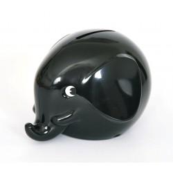 Norsu sort elefant sparebøsse - Maxi
