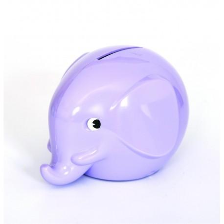 Norsu lavendel elefant sparebøsse - Mini
