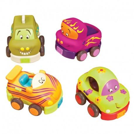 Wheeeee-ls - Træk-tilbage-biler - B. Toys