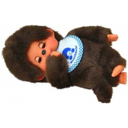 Monchhichi bamse - Sleep Eyes dreng