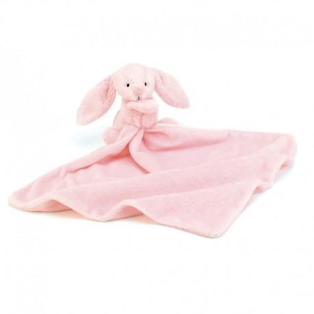 Jellycat nusseklad - Lyserød kanin