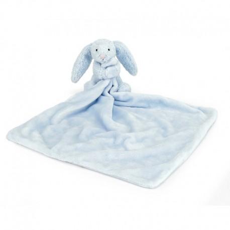 Little Jellycat nusseklud - Bashful kanin - Lyseblå