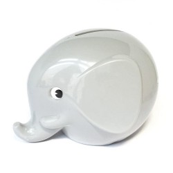 Norsu grå elefant sparebøsse - Mini