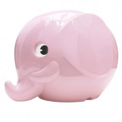 Norsu Pastel Pink elefant sparebøsse - Mini