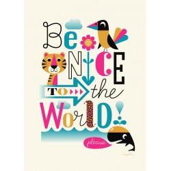 WWF Verdensnaturfonden plakat - Ingela P. Arrhenius