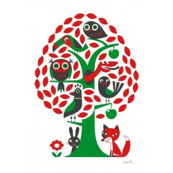 Ingela P. Arrhenius plakat - Træet