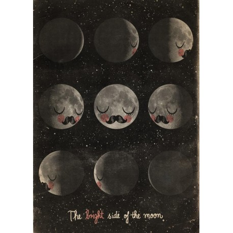 Martin Krusche plakat - The Bright Side of the Moon
