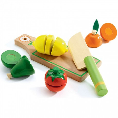 Frugt & grøntsager - Legemad - Djeco