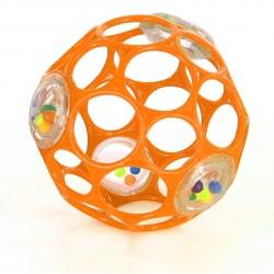 Oball bold med rangle - Orange