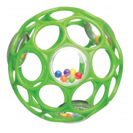 Oball bold med rangle - Grøn