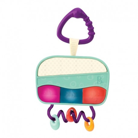 B. Toys - Babyradio med lys
