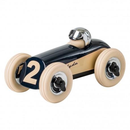 Clyde Racerbil - Blå/Crome - Playforever