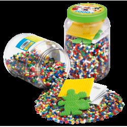 Hama perler med 2 plader - 7000 stk.