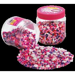 Pink Mix perler - 4000 stk. - Hama