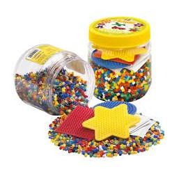 Perler med 3 plader - 4000 stk. (2052) - Hama