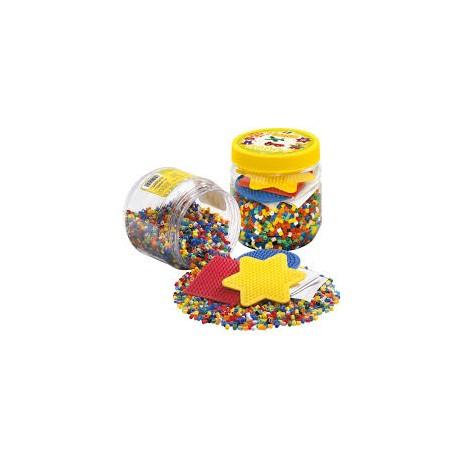 Hama perler med 3 plader - 4000 stk. (2052)