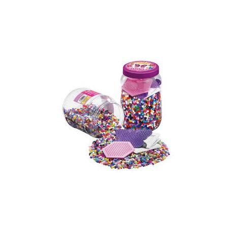 Hama perler med 2 plader - 7000 stk. (2086)