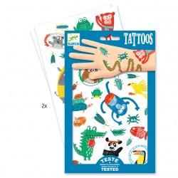 Vilde dyr tatoveringer - Djeco