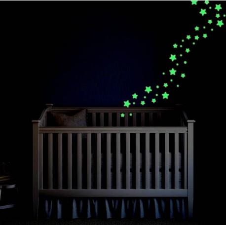 Selvlysende stjerner - Nattehimlen