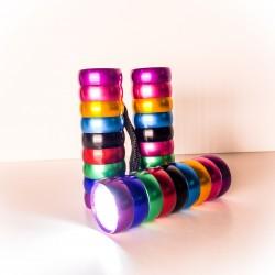 Mini lommelygte - Regnbuen