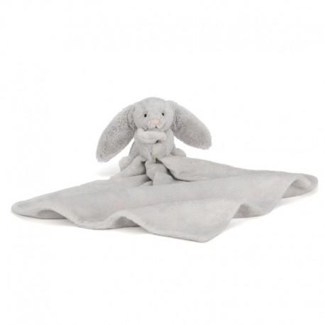 Little Jellycat nusseklud - Bashful Silver Bunny
