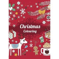 Malebog - Christmas Coloring - Rød