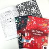Malebog - Christmas Coloring - Blå