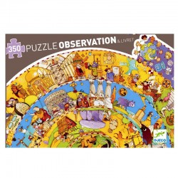 Verdenshistorien - Djeco observationspuslespil