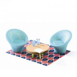 Blå dagligstue - Petot Home