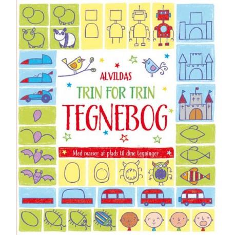 Trin for trin tegnebog - Alvilda