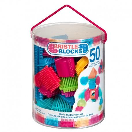 Bristle Blocks klodser i spand - 50 stk.