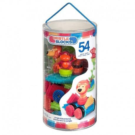 Jungle - Bristle Block - 54 stk
