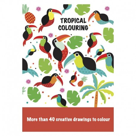 Malebog - Tropical Colouring