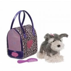 Schnauser - Pucci hund i taske