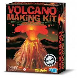 Vulkan samlesæt - KidzLabs - 4M
