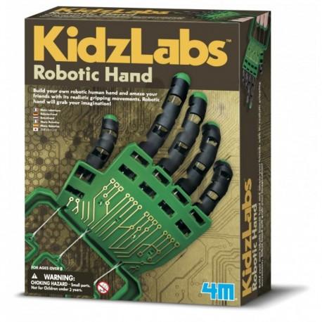Byg din egen robothånd - KidzLabs