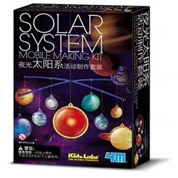 Uro-samlesæt med solsystemet - KidzLabs