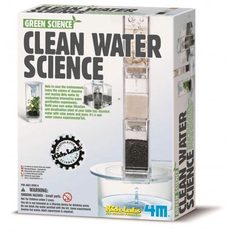 Videnskaben om rent vand - Green SCience - KidzLabs