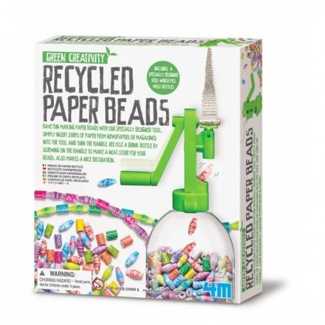 Lav dine egne papirperler - Green Craft