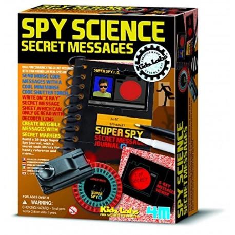 Send hemmelige beskeder - Spion videnskab - KidzLabs
