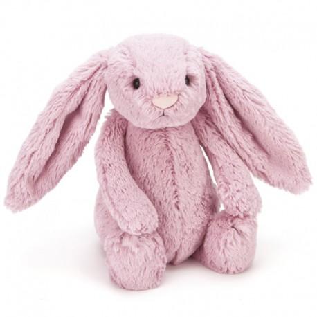 Tulip pink kanin - Stor - Jellycat bashful bamse