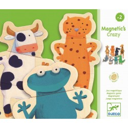 Crazy animals magneter - Djeco