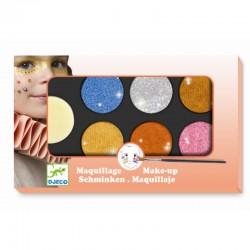 Djeco ansigtsmaling - Metallic farver