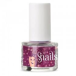 Pink glimmer til negle - Snails