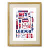 London - Limited Edition plakat - Ingela P. Arrhenius