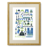 Ingela P. Arrhenius plakat - Paris - Limited Edition plakat