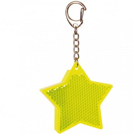 Stjerne refleks med lys
