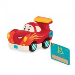 Rød racerbil - Træk tilbage bil - B. Toys mini whee-is