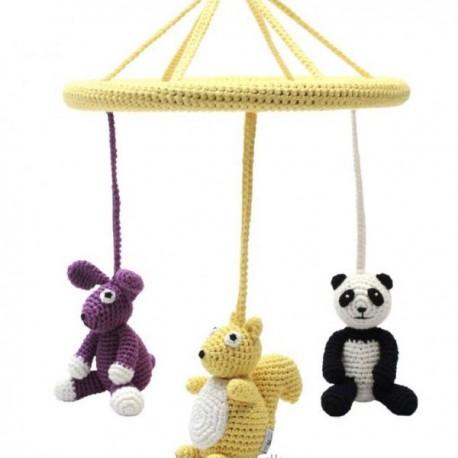 NatureZOO babyuro - Egern, Panda & Kanin