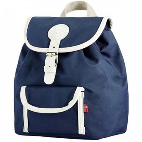 Mørkeblå rygsæk - Lille model - Blafre